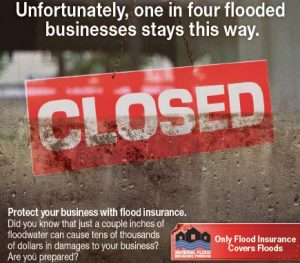 Average business flood claims are reaching $100,000 per claim. It makes great business sense to have a commercial flood insurance policy to make sure your business could continue for years to come.
